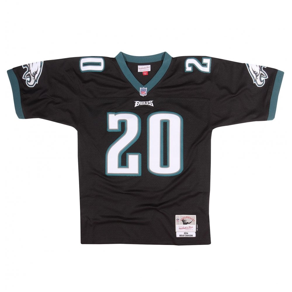 Mitchell   Ness NFL Philadelphia Eagles Brian Dawkins 2004 Replica ... 36e4460bc